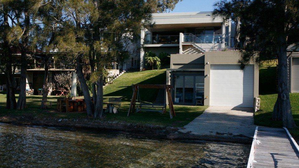 a new home design on lake macquarie