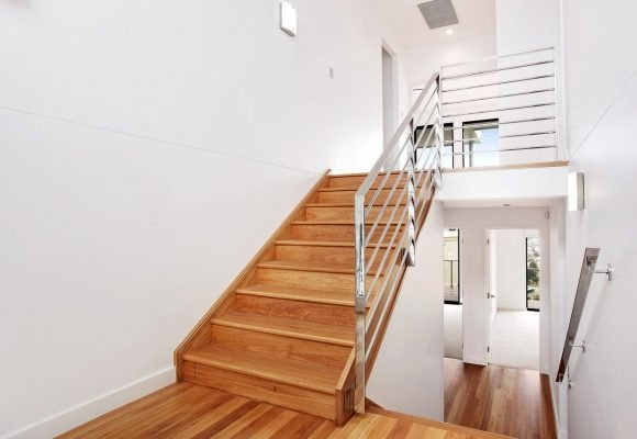 stairs in hickson residence